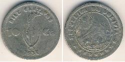 10 Centavo Bolivia (1825 - ) Níquel/Cobre