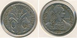 10 Centavo French Indochina (1887-1954) Nickel