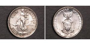 10 Centavo Filipinas Plata