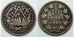 10 Centavo Nicaragua Plata