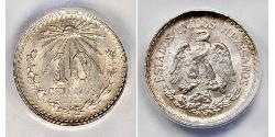 10 Centavo United Mexican States (1867 - ) Silver