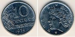 10 Centavo Brazil Steel