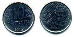 10 Centavo Brazil Steel/Nickel