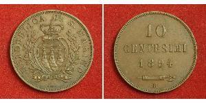 10 Centesimo San Marino 銅