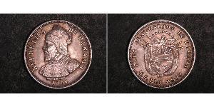 10 Centesimo Panamá Argento Vasco Núñez de Balboa (1475 – 1519)