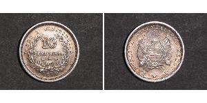 10 Centesimo Uruguay Silver