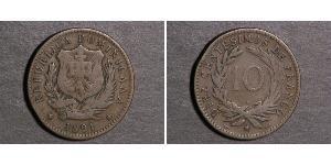 10 Centesimo 多明尼加