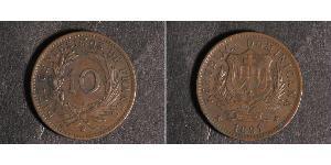 10 Centesimo Dominican Republic