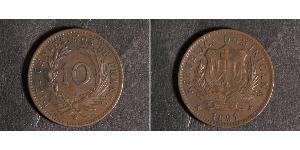 10 Centesimo République dominicaine