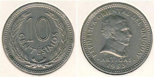 10 Centesimo Uruguay  José Gervasio Artigas