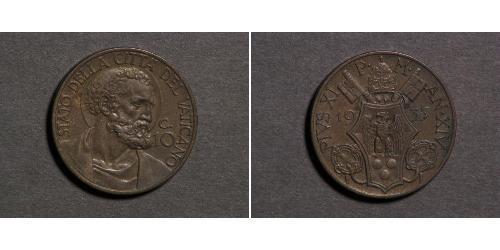 10 Centesimo Vatican (1926-)