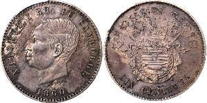 10 Centime Cambogia Bronzo/Argento Norodom of Cambodia (1834-1904)