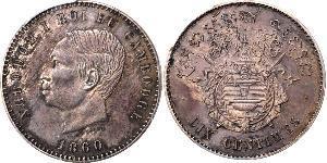 10 Centime Cambodia Bronze/Silver Norodom of Cambodia (1834-1904)