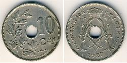10 Centime Belgium Copper/Nickel