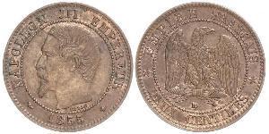 10 Centime Second Empire (1852-1870) Cuivre Napoleon III (1808-1873)