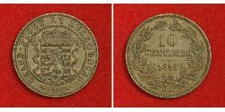 10 Centime Luxemburg Kupfer