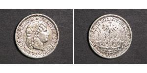10 Centime Haiti Silver