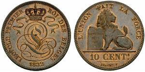 10 Centime 比利时