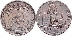 10 Centime Bélgica