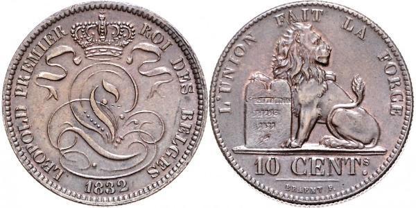 10 Centime Belgien