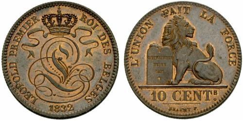 10 Centime Belgio