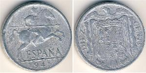 10 Centimo Francoist Spain (1936 - 1975) Aluminium