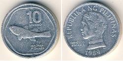 10 Centimo Philippinen Aluminium