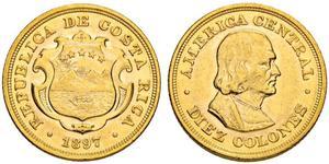10 Colon Costa Rica Or Christophe Colomb (1451 - 1506)