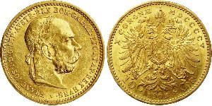 10 Corona Австро-Венгрия (1867-1918) Золото Франц Иосиф I (1830 - 1916)