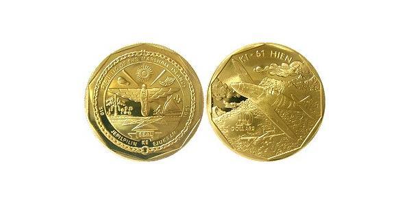 10 Dólar Islas Marshall Latón