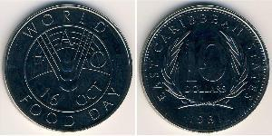 10 Dólar  Níquel/Cobre