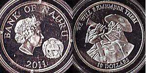10 Dólar Perak