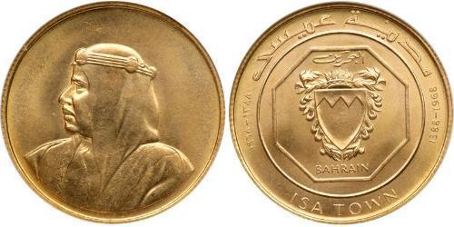 10 Dinar 巴林 金