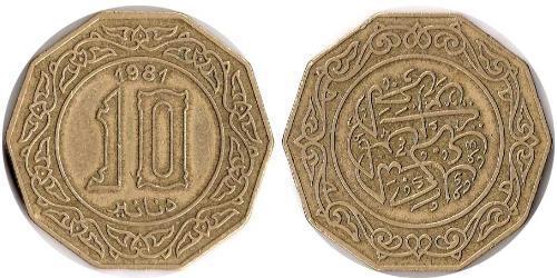 10 Dinar Algerien
