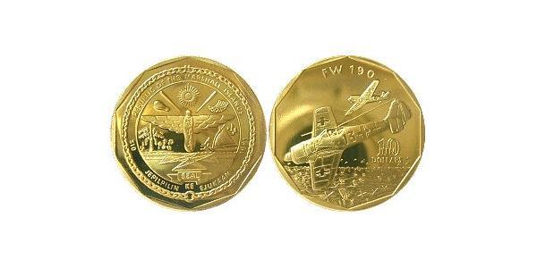 10 Dollar Marshall Islands 黃銅