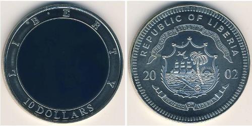 10 Dollar Liberia Copper/Nickel