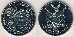 10 Dollar Namibia Copper/Nickel