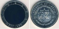 10 Dollar Liberia Cuivre/Nickel