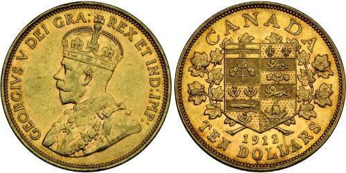 10 Dollar Kanada Gold George V (1865-1936)