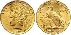 10 Dollar USA (1776 - ) Gold