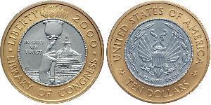 10 Dollar Vereinigten Staaten von Amerika (1776 - ) Gold/Platin