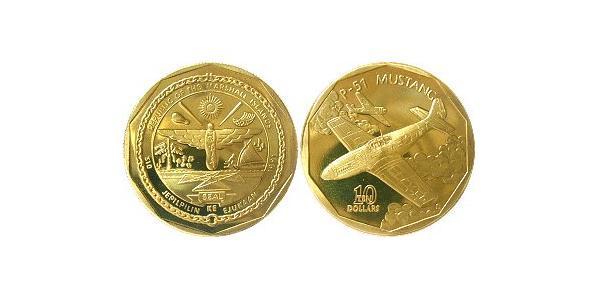 10 Dollar Îles Marshall Laiton