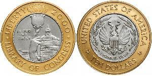 10 Dollar USA (1776 - ) Platinum/Gold