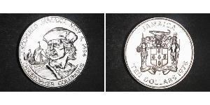 10 Dollar Jamaika (1962 - ) Silber Christoph Kolumbus (1451 - 1506)