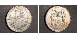 10 Dollar Jamaika (1962 - ) Silber Henry Morgan
