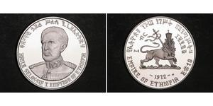 10 Dollaro Etiopia Argento Hailé Selassié