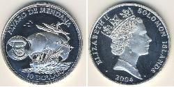 10 Dollaro Isole Salomone Argento