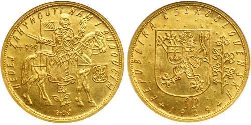 10 Ducat Czechoslovakia (1918-1992) 金