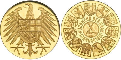 10 Ducat Geschichte der Bundesrepublik Deutschland (1949-1990) Gold