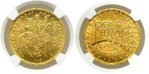 10 Ducat Cecoslovacchia  (1918-1992) Oro